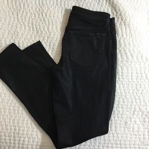 JOE'S coated black jeans size 27